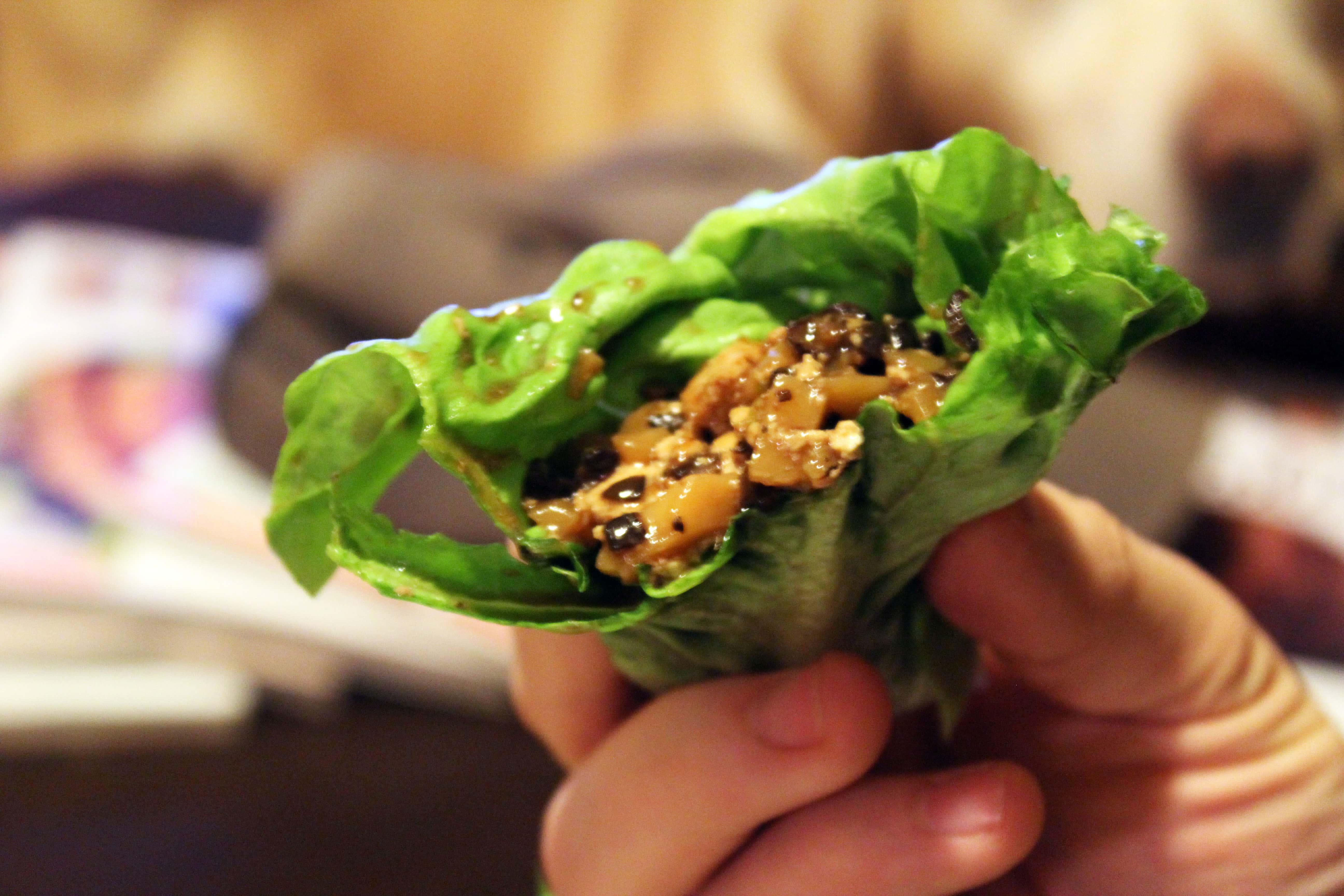 Lettuce Wraps – Vegetarian or Not!