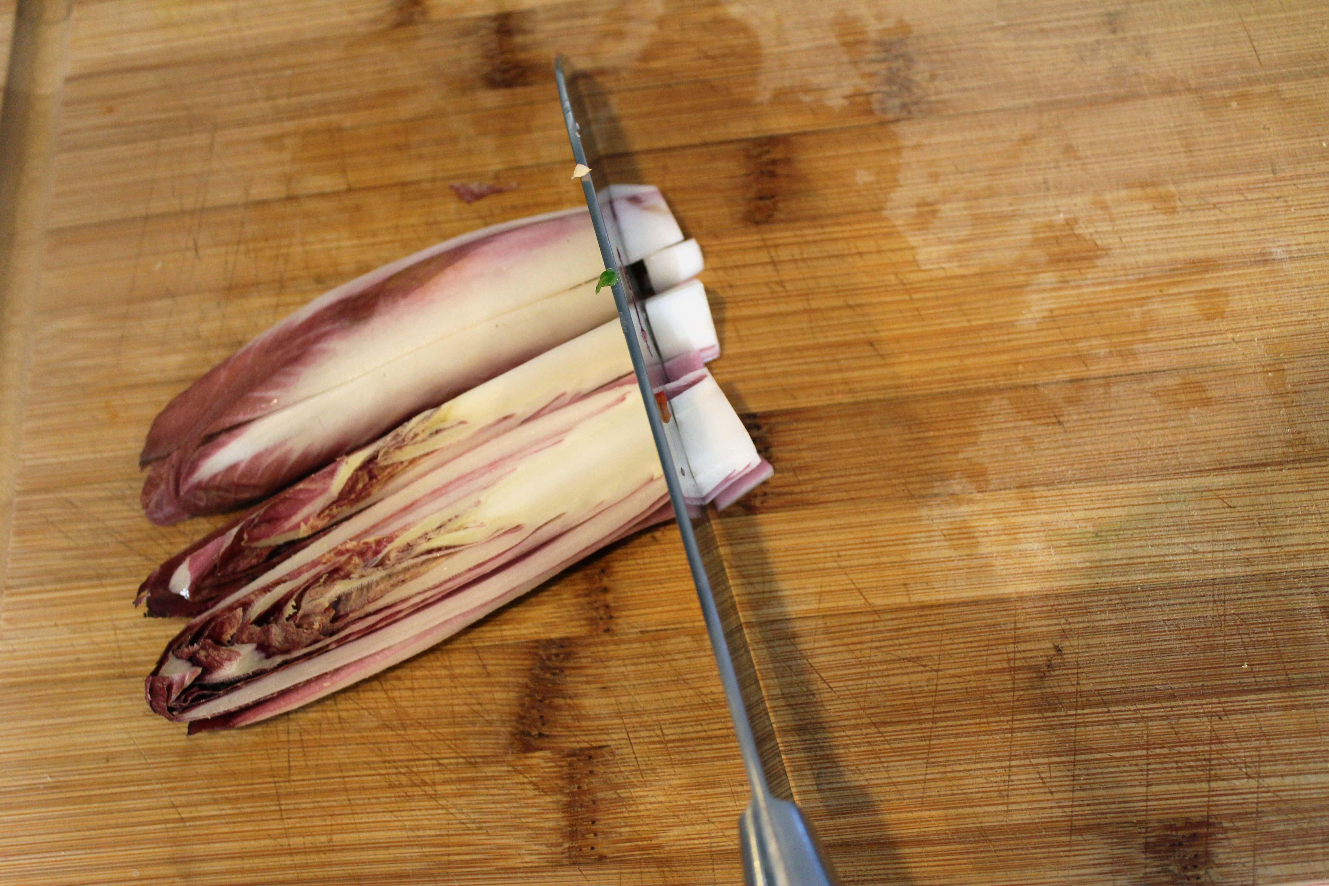 Chop endive