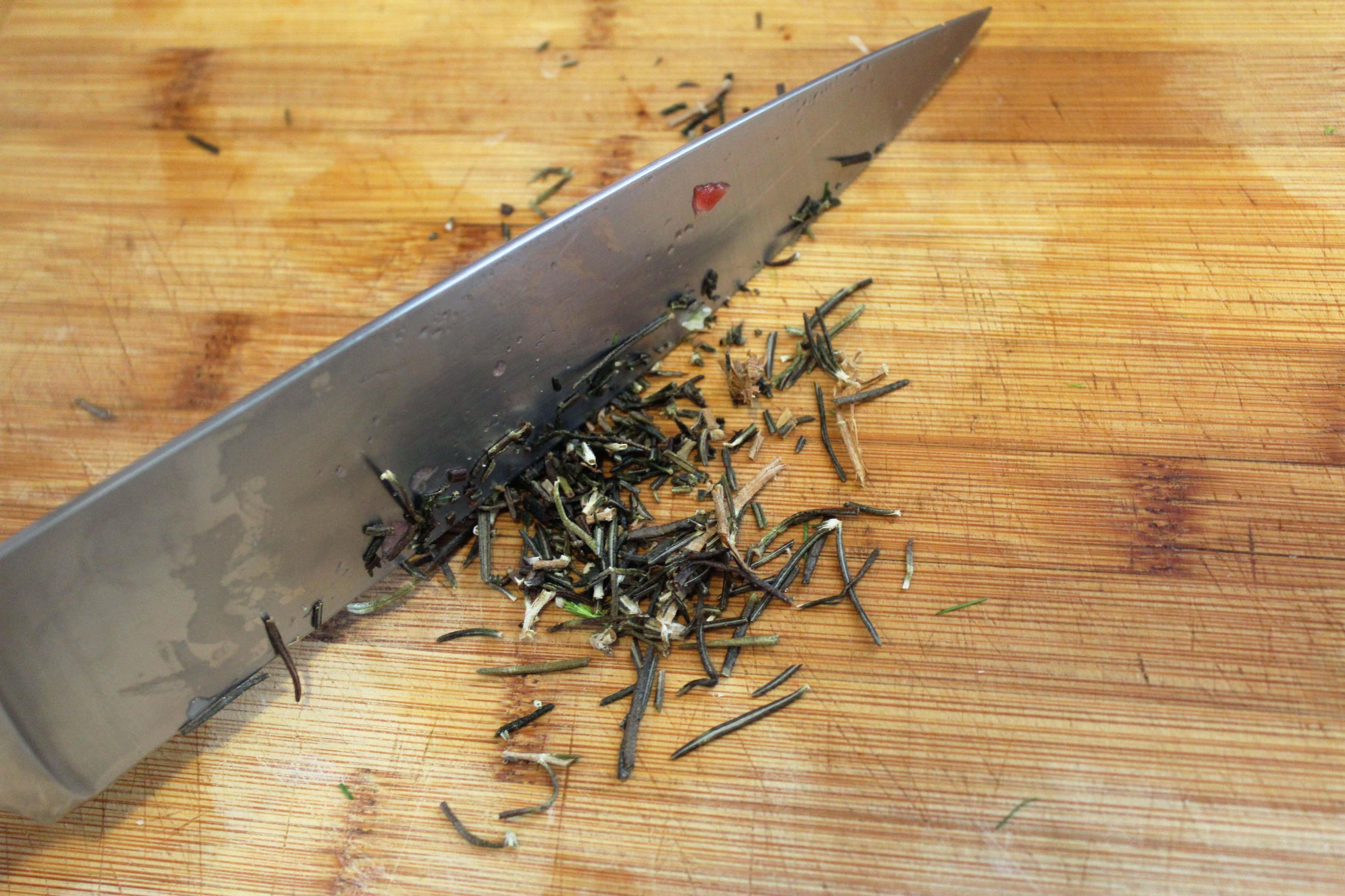 Chop Rosemary