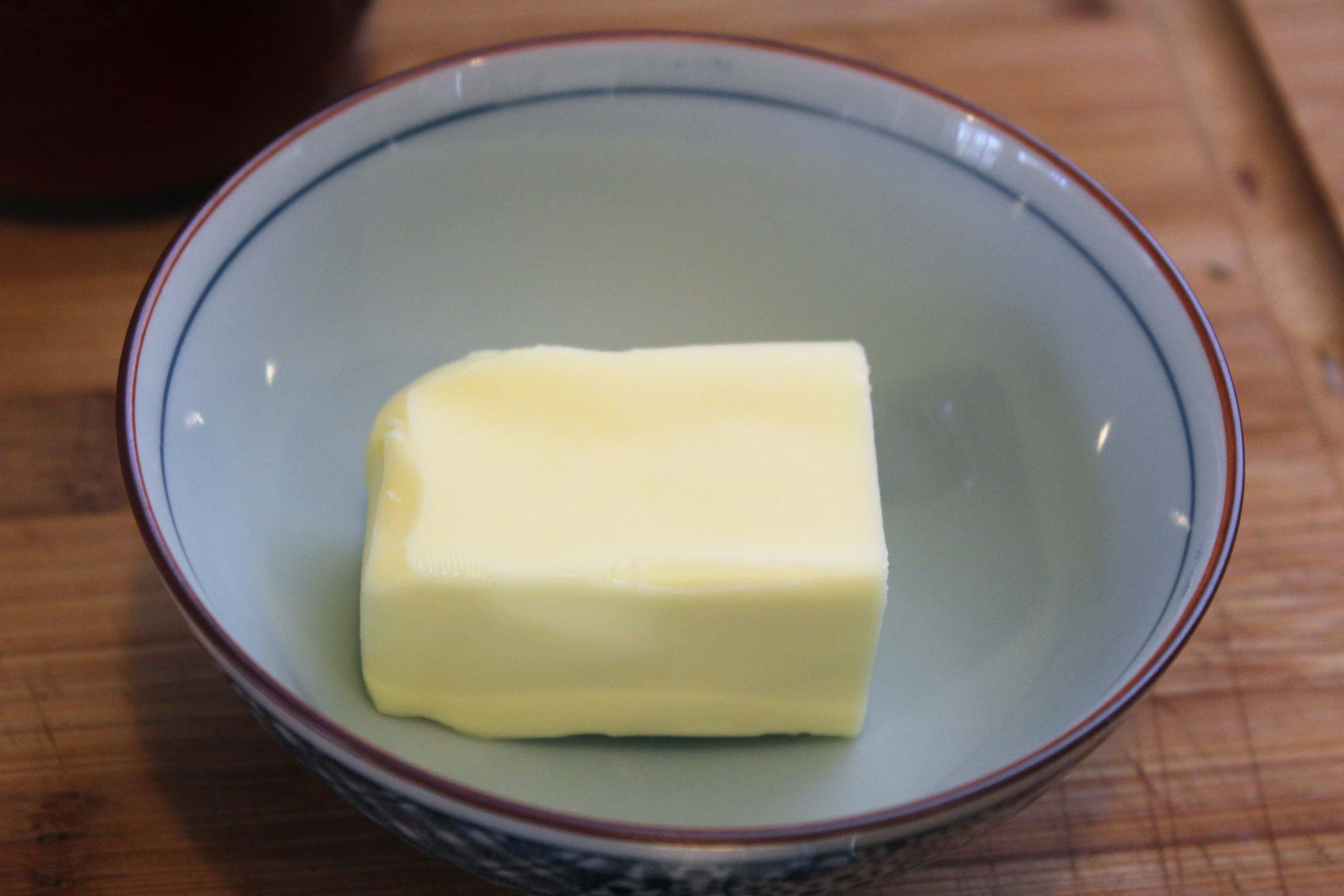 Soften butter