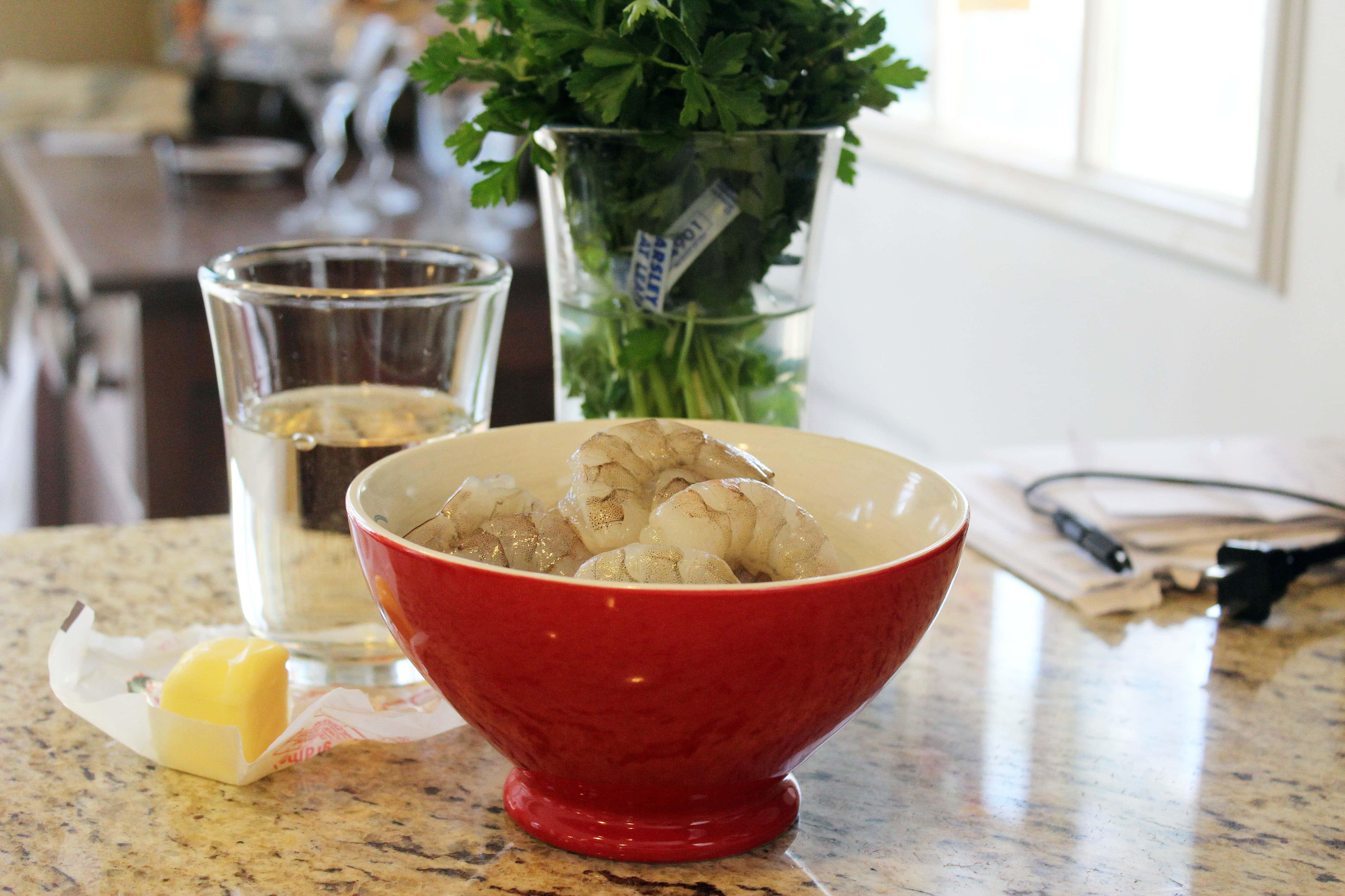 Ingredients minus lemon