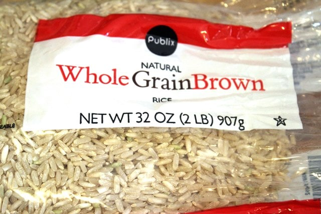 Brown rice is nuttier
