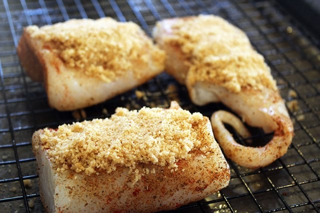 Fish ready to bake