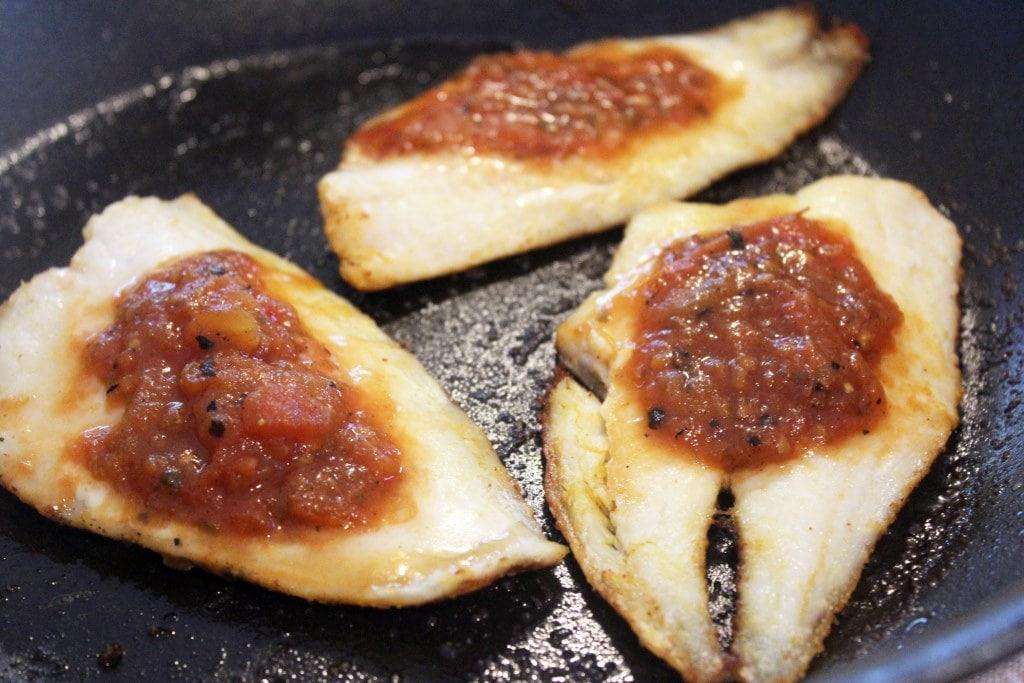 Broiled fish