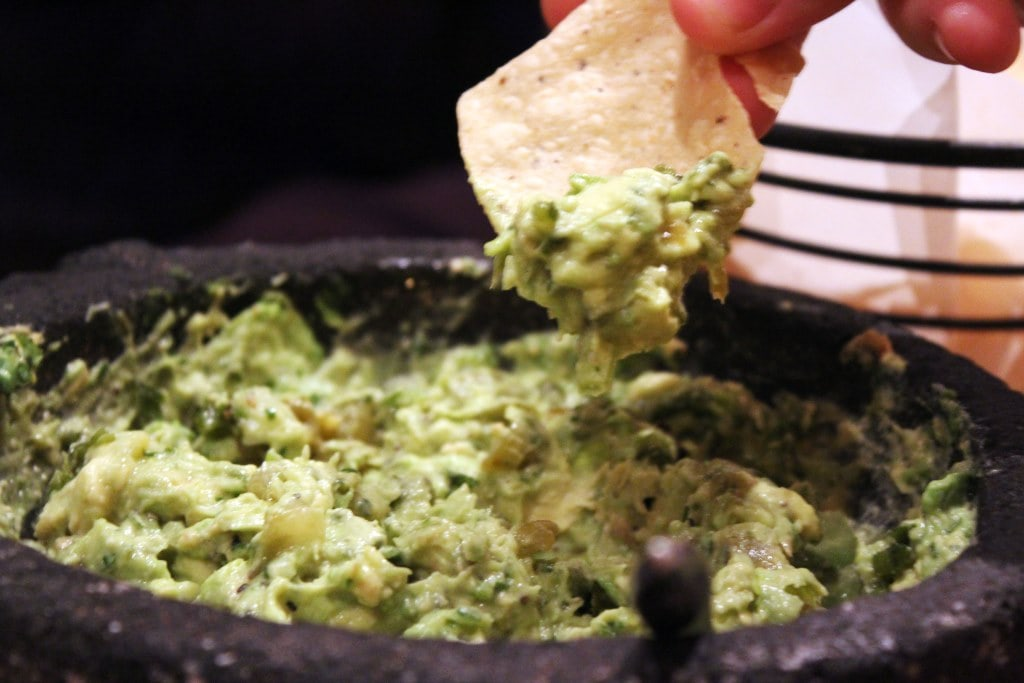 Guac and chip