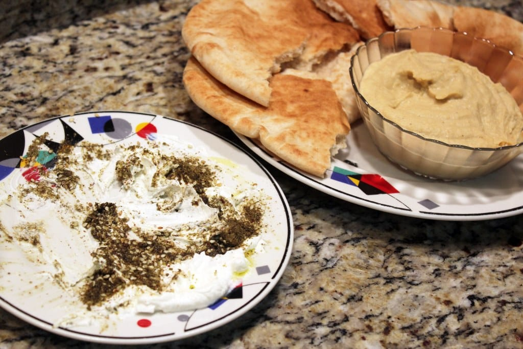 Labneh for dipping