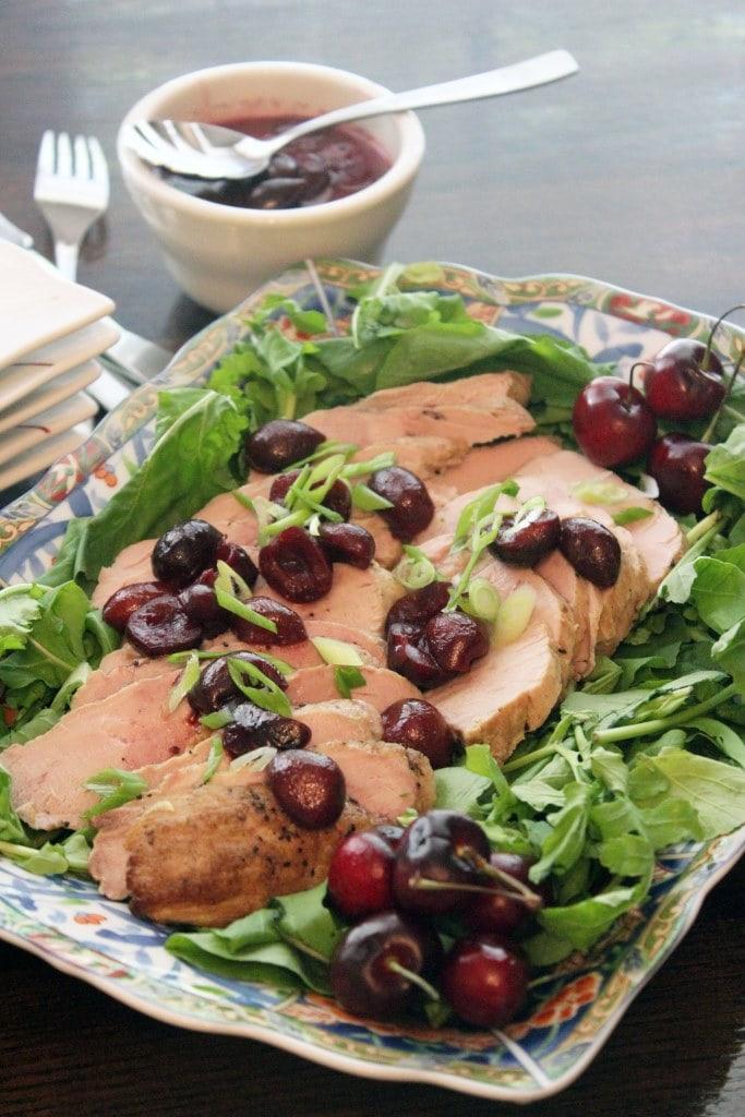 Platter of pork