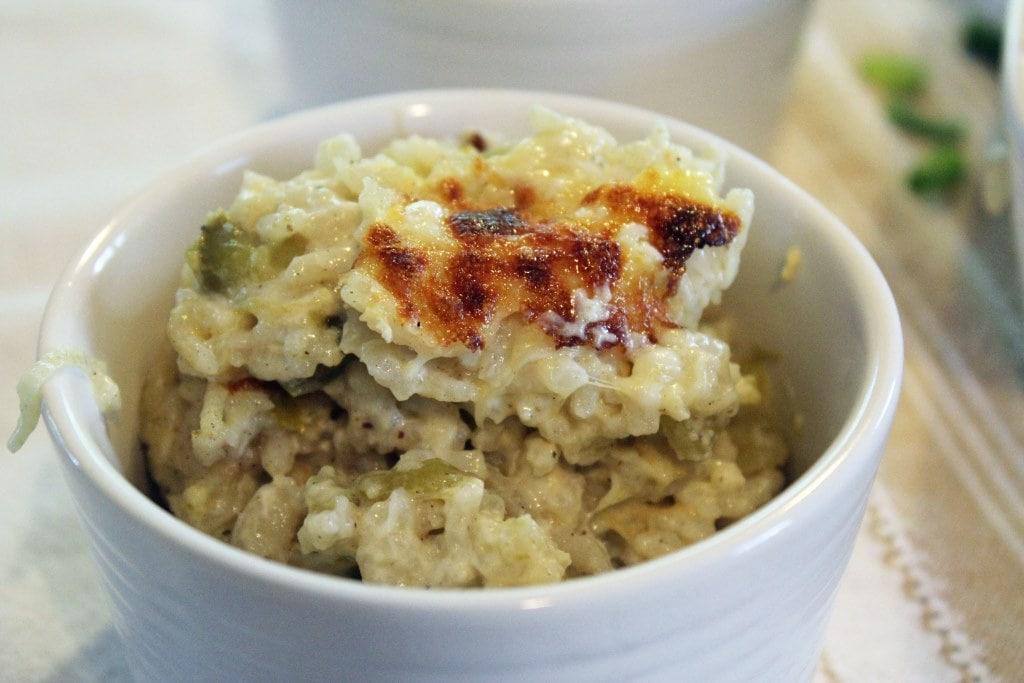 Ramekin of rice