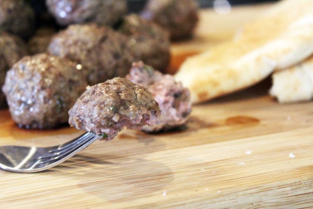 Tender meatball