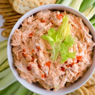 How to make buffalo chicken dip recipe from funnyloveblog.com