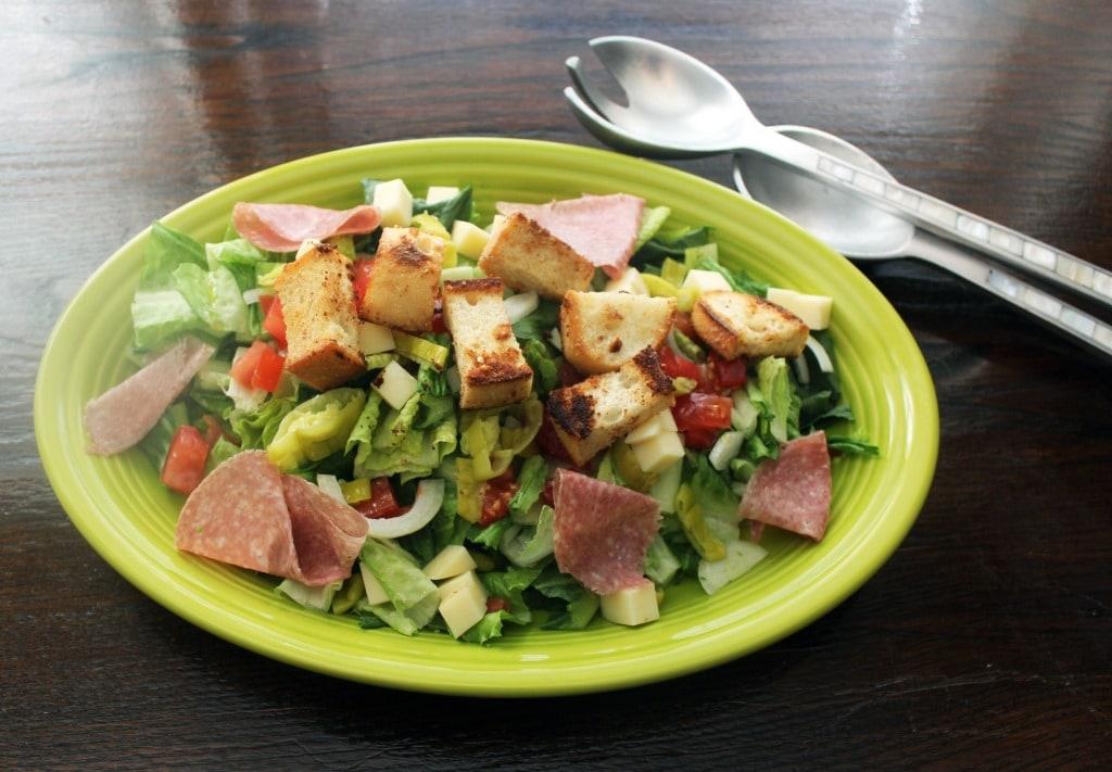 Plattered Salad
