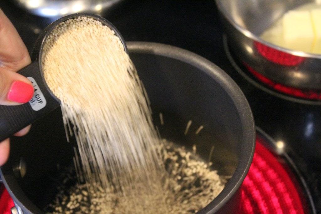 Start quinoa first