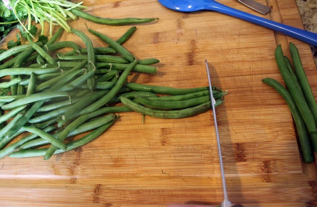 Trim Green Beans