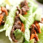 How to make Whole30 Bulgogi Beef Lettuce Wraps