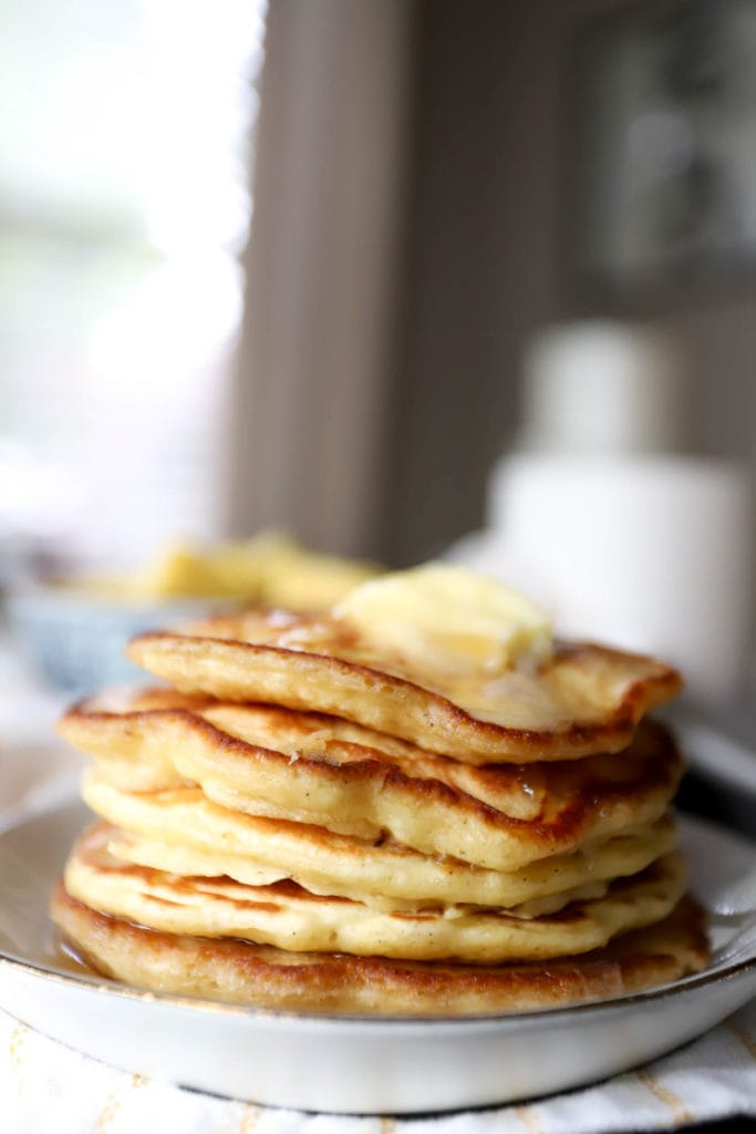 How to make the Best Pancakes Ever recipe by funnyloveblog.com