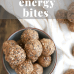 Chocolate Chip Peanut Butter Energy Bites