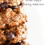 Oatmeal Breakfast Cookies from Sally's Baking Addiction