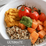 Best Ever Fall Quinoa Lentil Bowl