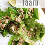 How to make ground chicken lettuce wraps thai style