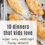 10 Kid Friendly Recipes for picky eaters