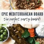 How to make a mediterranean hummus board